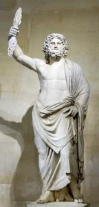 Jupiter de Smyrne, musée du Louvre (Wikicommon)