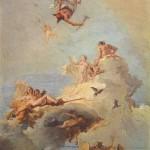 Jean-Baptiste Tiepolo, l'Olympe, musée du Prado, Madrid (wikicommons)