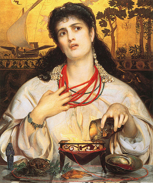F. Sandys, Medea, Birmingham Museum and Art Gallery (Wikicommons)