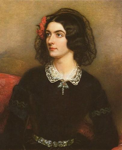 La courtisane Lola Montez peinte par J.K. Stieler (wikicommons)
