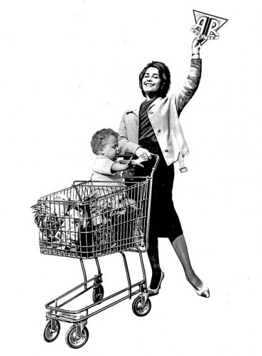 Publicité fin 1950 (wikicommons)