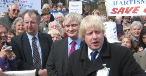 Boris Johnson en 2006 (wikicommons)
