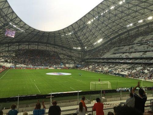Stade vélodrome lors du match Marseille Caen, cliché Cédric SF (Common medias)
