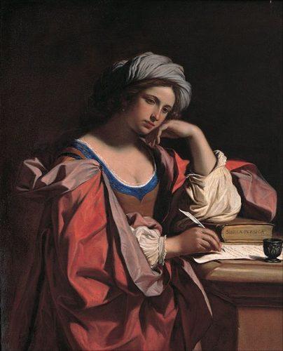 La Sibylle perse, Le Guerchin, Musée du Capitole (wikicommons)